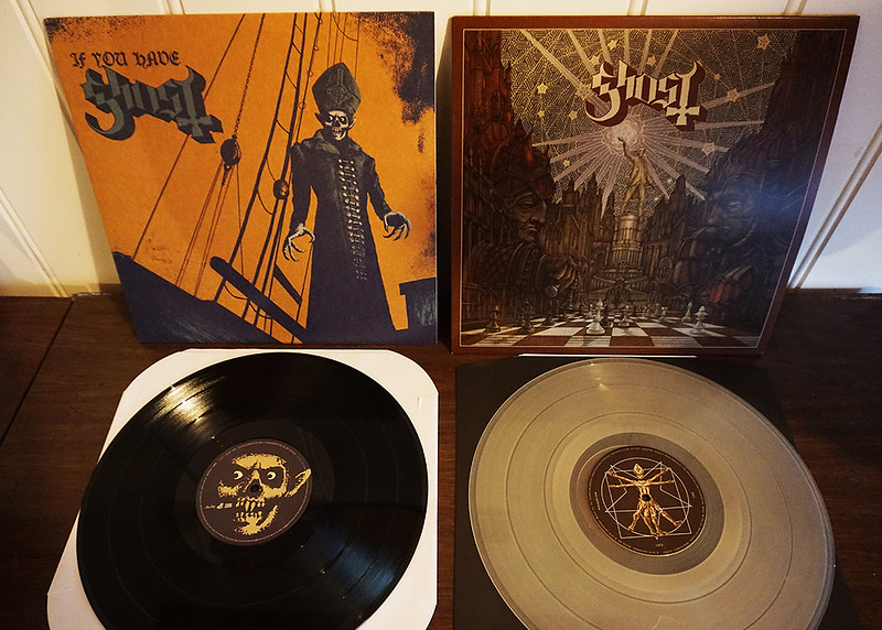 Ghost: If You Have Ghost, Black Vinyl (EP) & Popestar, Clear Vinyl (EP)