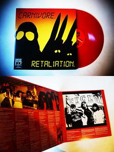 Carnivore: Retaliation, Gatefold, 2 Red Vinyls, Limited Edition
