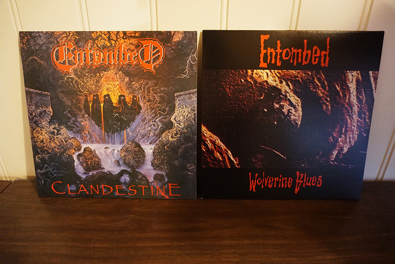 Entombed: Clandestine & Wolverine Blues, Black Vinyls