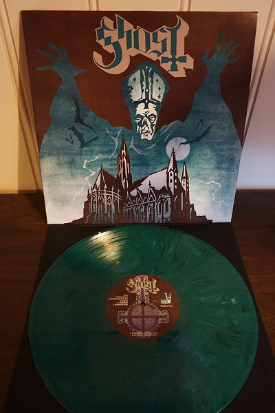Ghost: Opus Eponymous, Turquoise Marble Vinyl