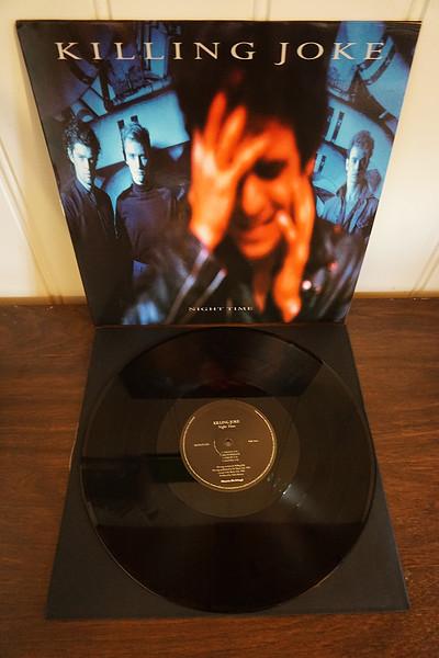 Killing Joke - Night Time, Black Vinyl