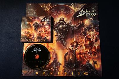 Sodom: Genesis XIX, Digipak CD with Poster
