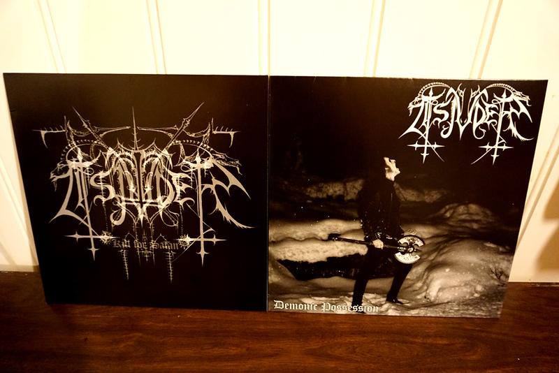 TSJUDER: KILL FOR SATAN & DEMONIC POSSESSION, Black Vinyl