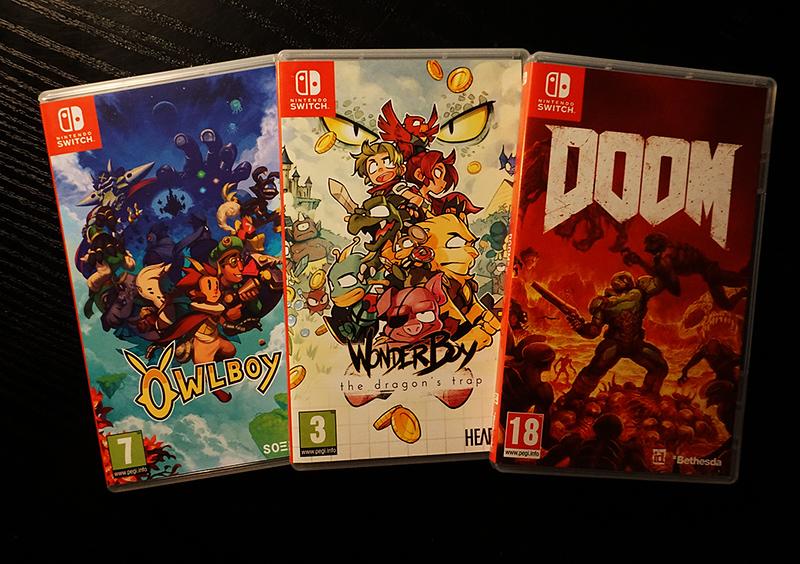 Owlboy, The Dragon's Trap: Wonderboy & Doom