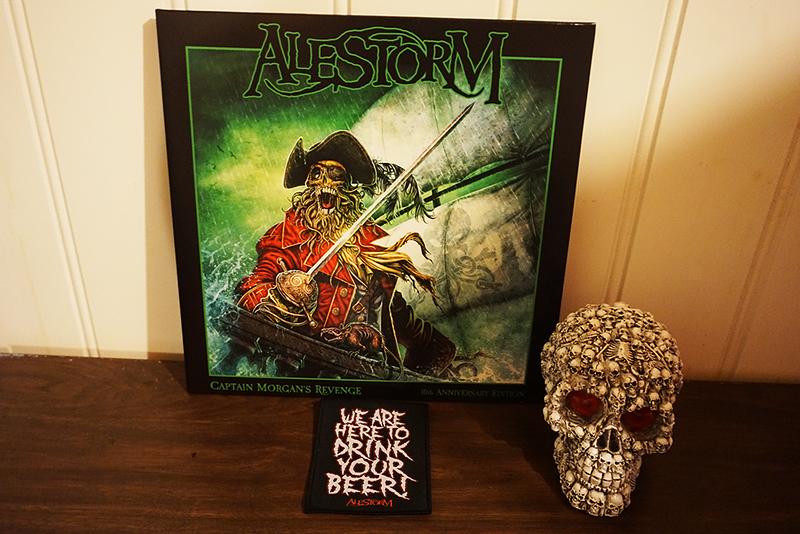 Alestorm: Captain Morgan's Revenge - 10th Anniversary Edition, Black Vinyl + Patch