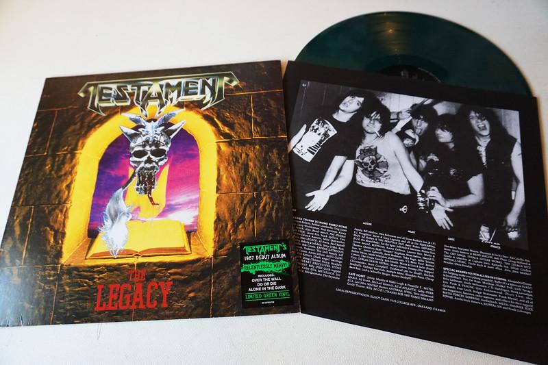 Testament: The Legacy, Green Vinyl