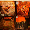 My Kreator vinyl collection so far: Endless Pain, Pleasure to Kill, Terrible Certainty, Extreme Aggression + Live in East Berlin 1990, Remastered Black Vinyls
