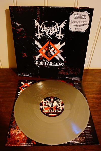Mayhem: Ordo Ad Chao, Gatefold Silver Vinyl, Limited Edition
