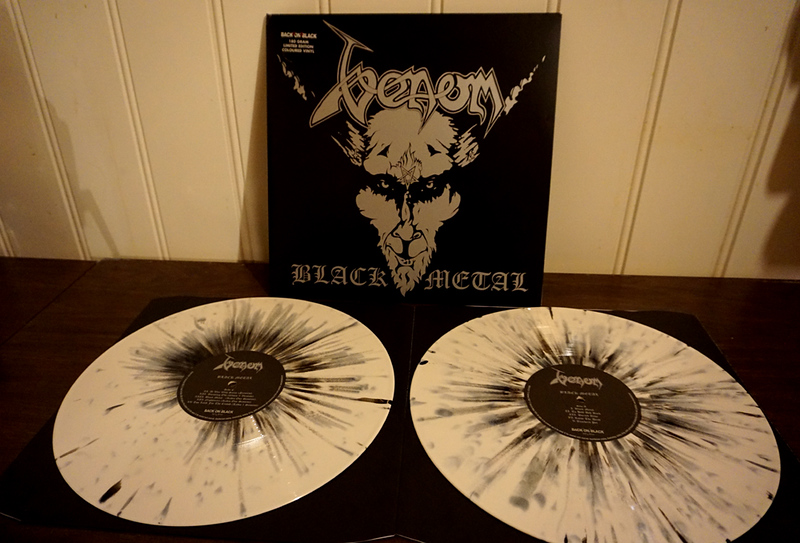 Venom: Black Metal, White Splatter Vinyl, Limited Edition