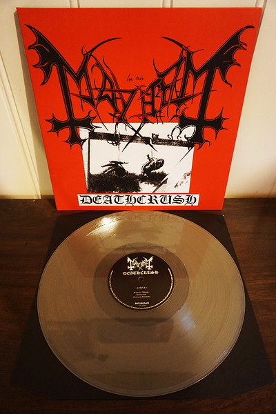 Mayhem: Deathcrush, Limited Edition Clear Vinyl