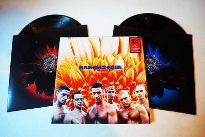 Rammstein: Herzeleid, Gatefold, 2 Black Vinyls