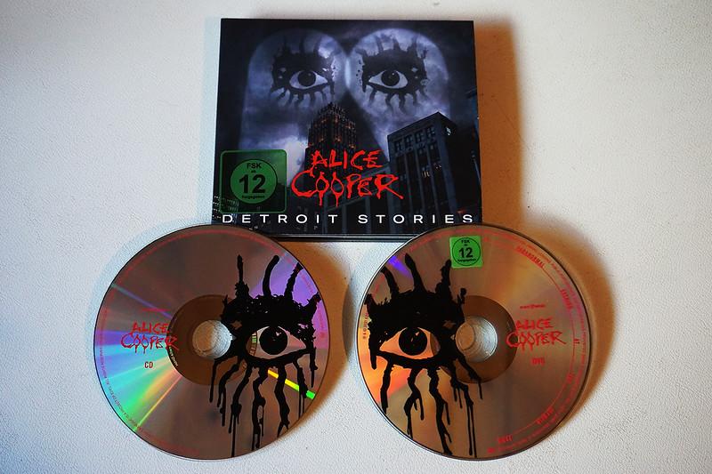 Alice Cooper - Detroit Stories (CD+Live DVD)