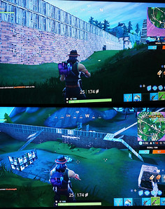 Building Trump's wall in Fortnite lol
