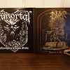 Immortal: Northern Chaos Gods / Tsjuder: Throne of the Goat (400 Copies Limited Edition), Black Vinyls