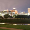 39236823 - a storm is passing over downtown fort worth overnight
