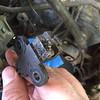 Montero - crank sensor - magnetized?