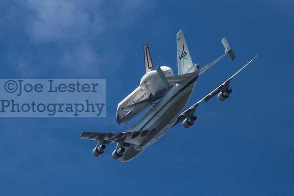 Space Shuttle Endeavour Flyover - Studio City, Ca. 9-21-12