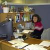 Pat hard at work.