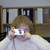 Tammy taking a picture of me taking a picture of her.