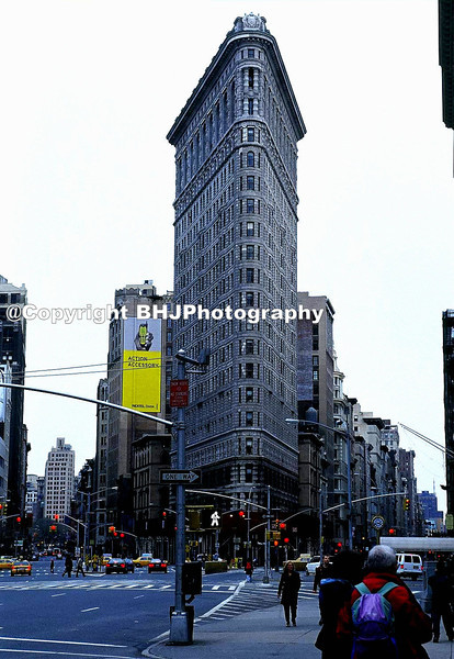 Flat-Iron Building, New York City