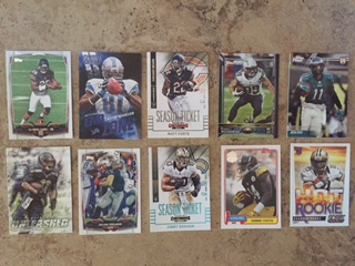 Trading Football Cards for Kids