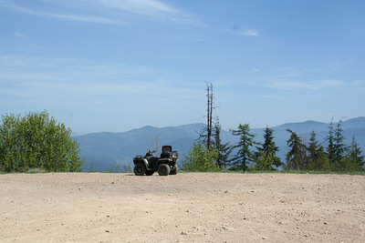 Our ATV on Canfield Mt.
