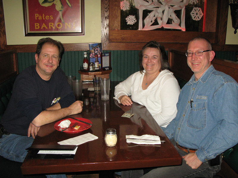 Visit with Mark, lunch at Mystic Pizza in Stonington, CT.   It was good to catch up on things with an old friend.