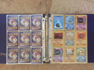 binder for trading cards Pokemon