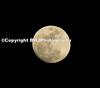 Moon over Katy, Texas, 2008
