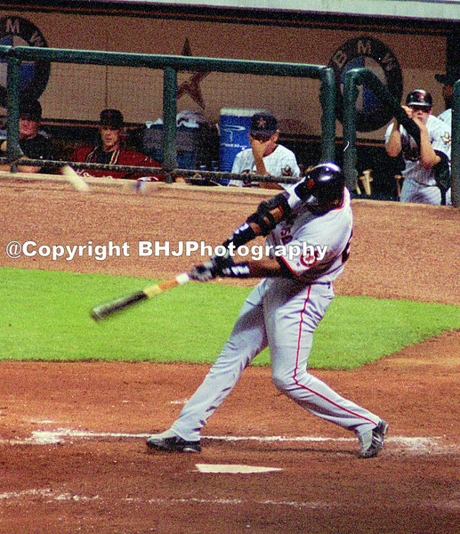 Baseball great Barry Bonds, Houston (Minute Maid Park), Texas