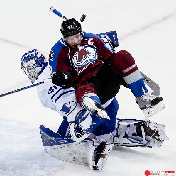 NHL: Toronto Maple Leafs at Colorado Avalanche