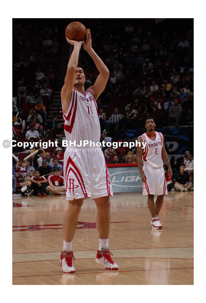 Basketball great, Yao Ming, Houston Rockets, Houston, Texas