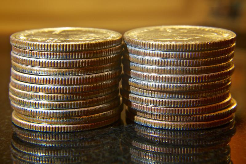 Stacks of Quarters ref: fb33250a-a8e6-4766-b813-e6a4834fcb79