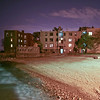 The little beach close to where Luke lived in Chicago - 2008<br /> Taken around midnight