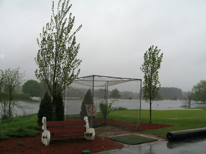 "Flooded Golf Course ""Hoodcroft"""