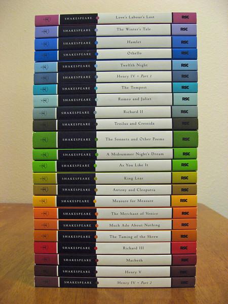 a rainbow of Shakespeare!