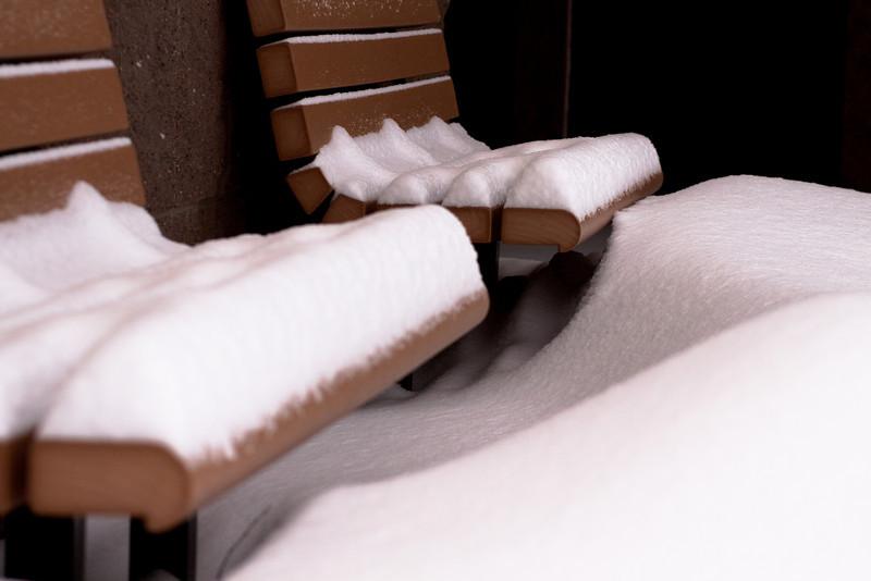 A small snowstorm...