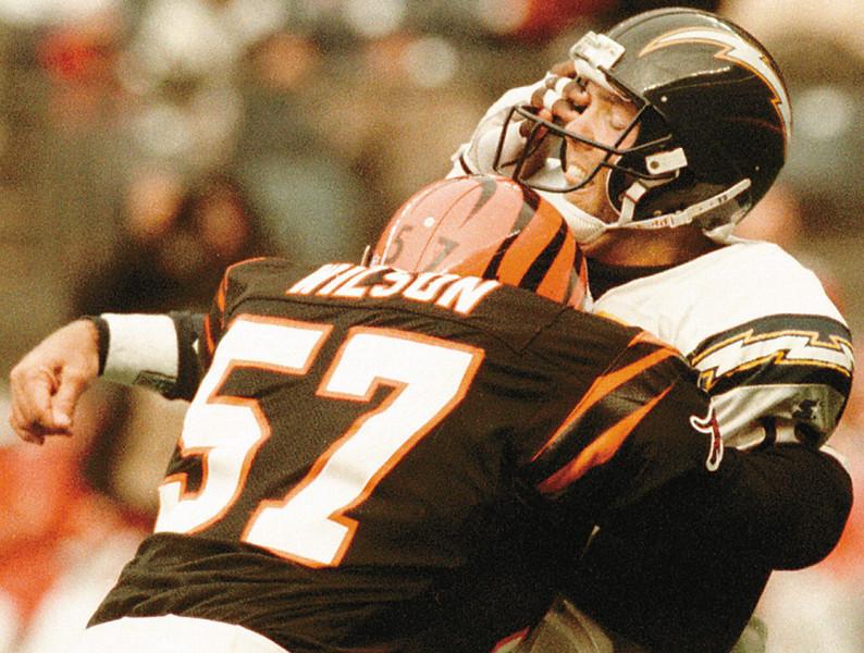 Stan Humphries last NFL play.