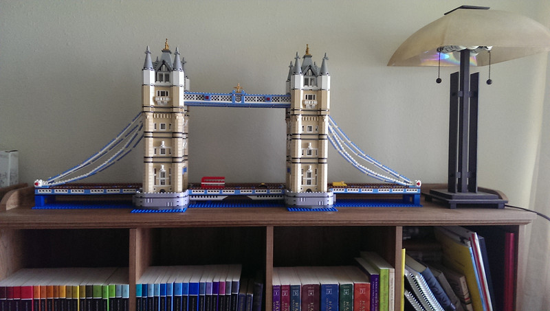 4,287 pc Lego London Tower Bridge