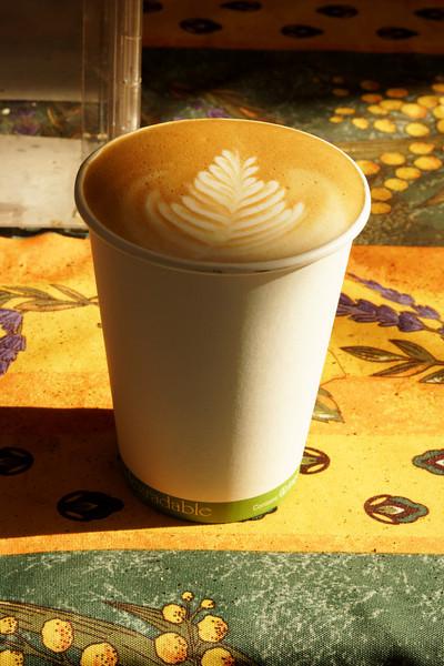 Latte from Espresso Subito (food truck) ref: fcef9b41-3525-4212-9a63-968a4496d0b1