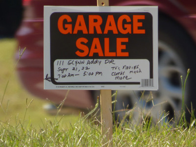 False Advertising!  I went there and asked the guy  how much for the garage and he would not sell it to me.  Dam him!