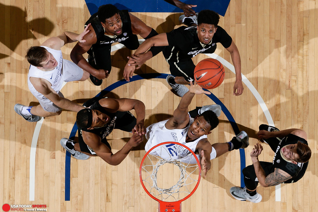 NCAA Basketball: Colorado at Air Force