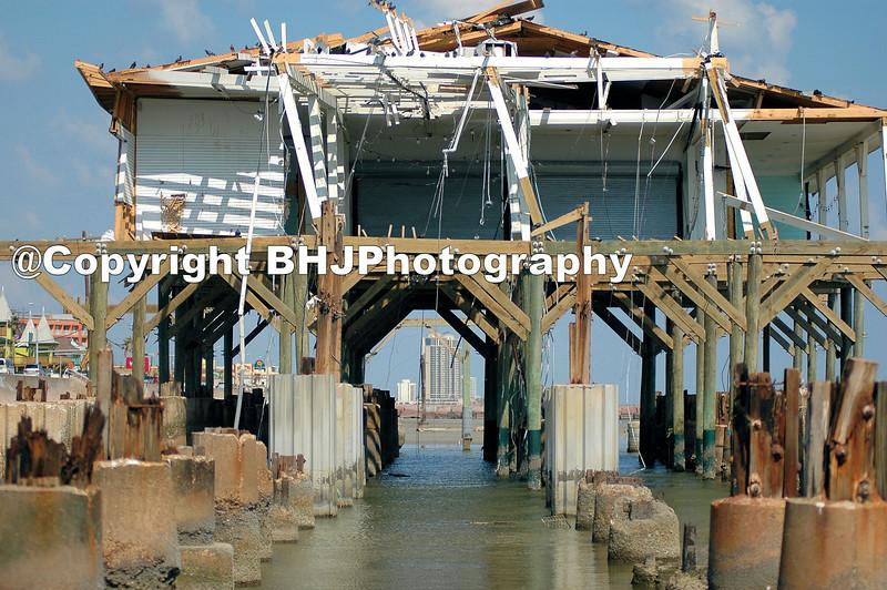 Galveston after Hurricane Ike.