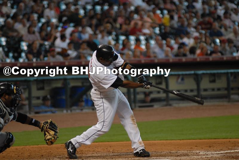 Baseball great, Miquel Tejada,  Houston Astros, Minute Maid Park, Houston, Texas