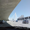 first view of new bay bridge