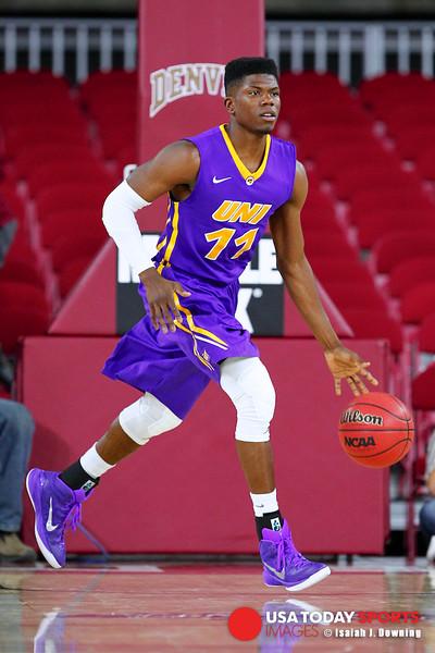NCAA Basketball: Northern Iowa at Denver