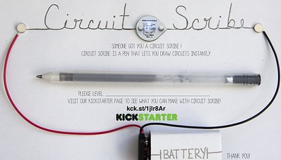 Draw energy with Circuit Scribe