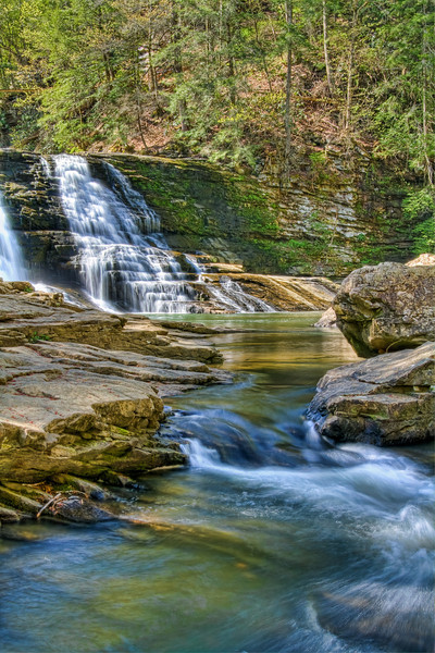 """The Cascades""<br /> Falls Creek Falls State Park<br /> Spencer, TN"