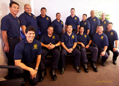 Honolulu Fire Department Officers - Congratulations to all ;o)  April 1, 2011