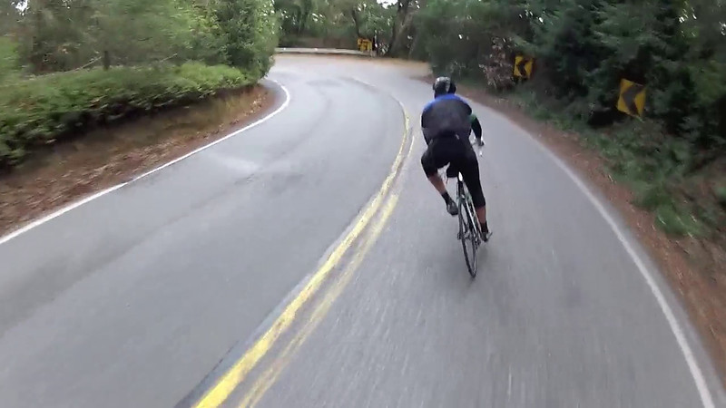 Video of our descent down Hwy 84.  We both love descending this road.